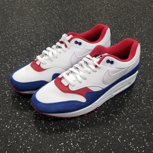 New Nike Air Max 1 USA Americana RedWhiteblue NWT